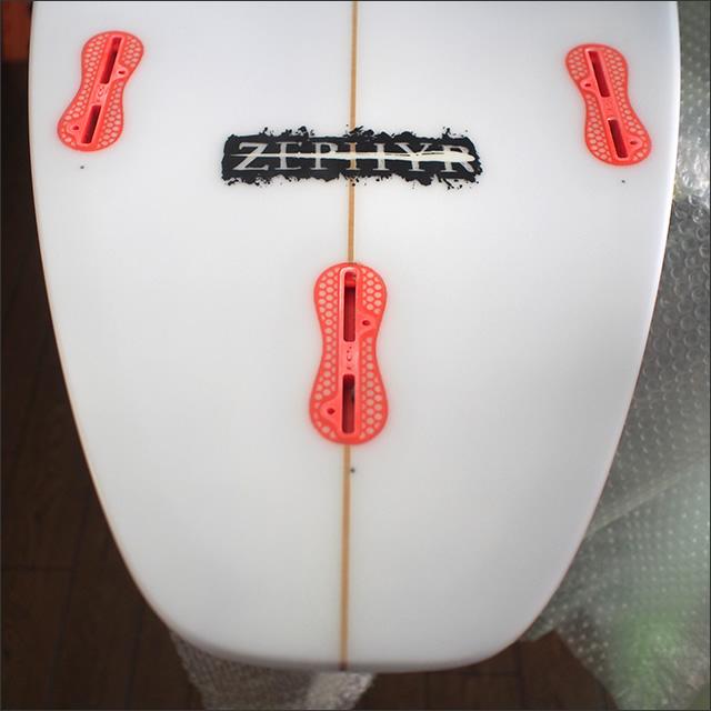 3Dimension【スリーディメンション】ZEPHYRモデル サーフボード FCSII PU 5'10×19×2 9/32