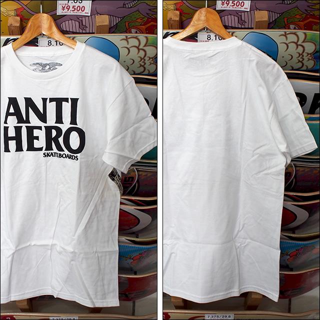 ANTIHERO【アンタイヒーロー】Tシャツ BLACKHERO S/S TEE (White) サイズ:M