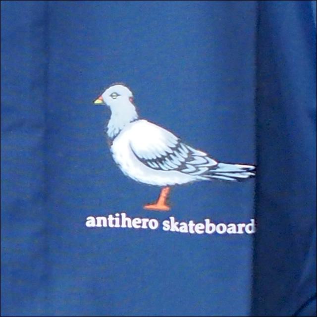 Antihero【アンタイヒーロー】ウインドブレーカー LIL PIGEON COACHE JACKET CLASSIC NAVY サイズ:M
