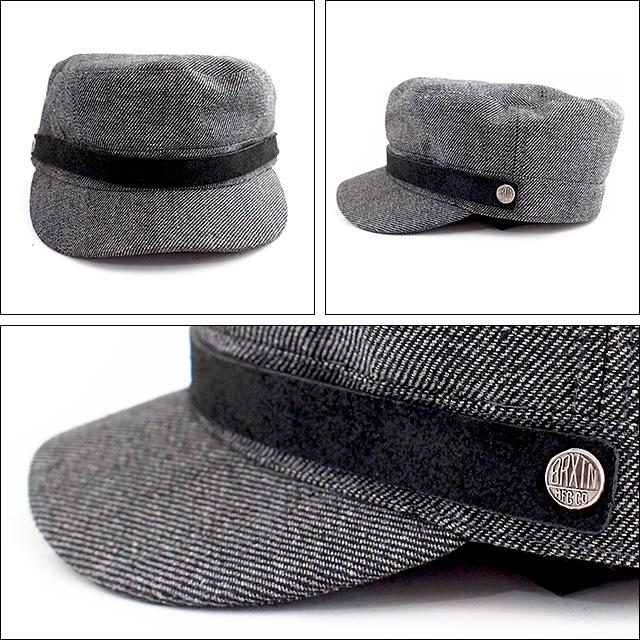 BRIXTON【ブリクストン】キャップ BUSKER(Grey/Black)サイズ:M