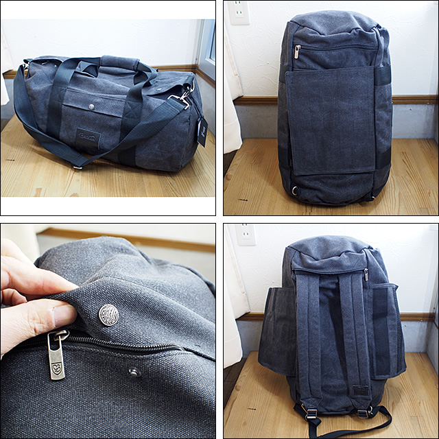 BRIXTON【ブリクストン】ダッフルパック Bixby Duffle Bag(Black)