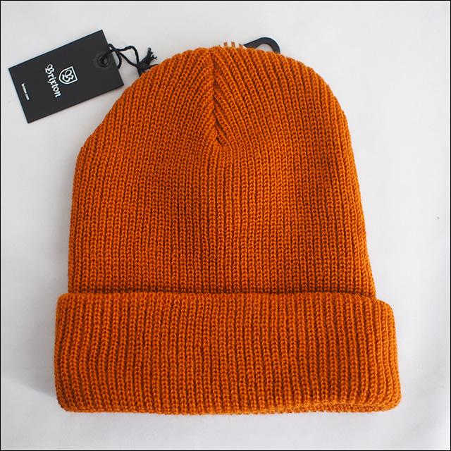 BRIXTON【ブリクストン】ビーニー HEIST BEANIE(Burnt Orange)