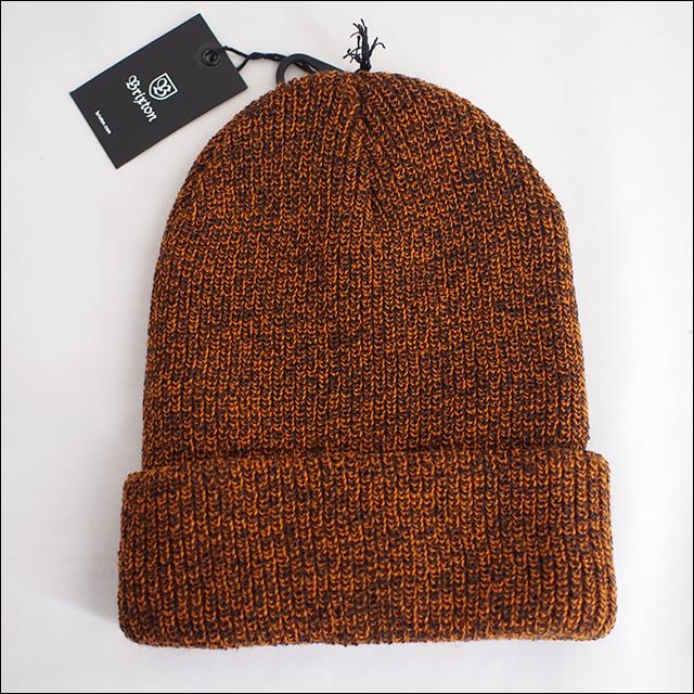 BRIXTON【ブリクストン】ビーニー HEIST BEANIE(Athletic Orange/Brown)