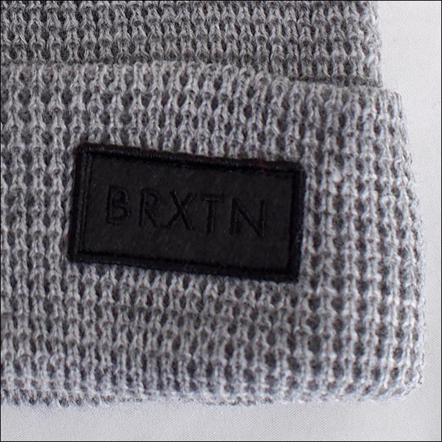 BRIXTON【ブリクストン】ビーニー RIFT BEANIE(Light Heather Grey/Black)