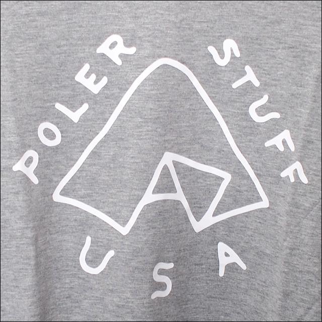 Poler Camping Stuff【ポーラーキャンピングスタッフ】ロンT TENT L/S TEE (Gray Heather) サイズ:S