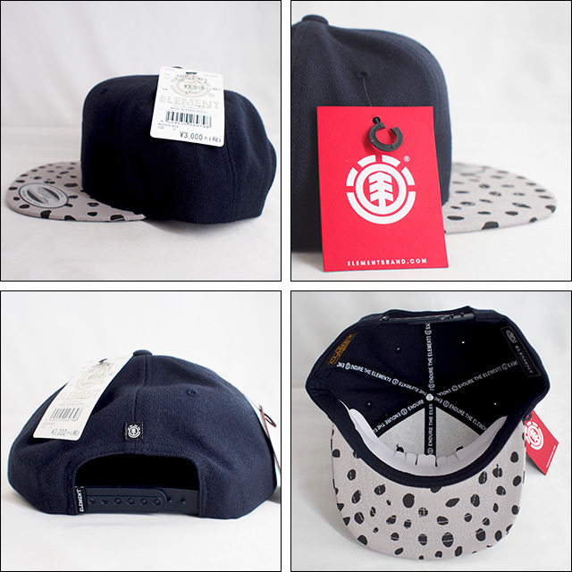 ELEMENT【エレメント】キッズ キャップ YOUTH CAP STATE CAP BOY(TOE)