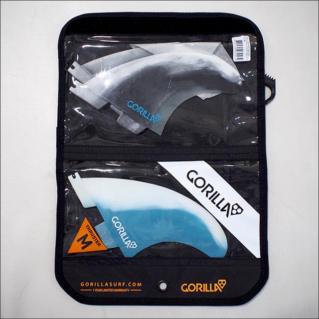 GORILLA FIN【ゴリラフィン】フィン FCS II CORE PC TRI FIN SET サイズ:M
