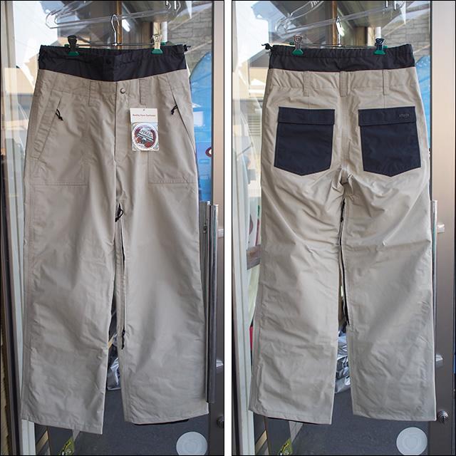 【15-16】GREEN CLOTHING【グリーンクロージング】スノーパンツ 4POCKETS(Sand)サイズ:M