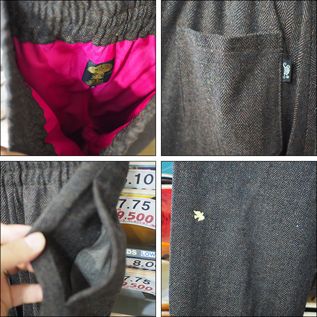 GREEN CLOTHING【グリーンクロージング】ロングパンツ WOOL FLANNEL PT サイズ:M