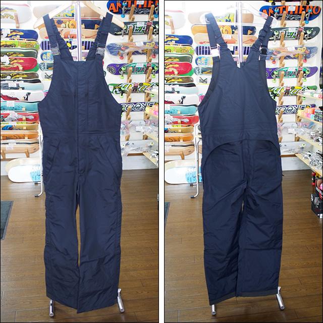 【16-17】GREEN CLOTHING【グリーンクロージング】スノーパンツ BIB PANTS(ブラック)