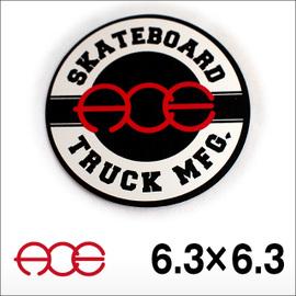 Ace【エース】ステッカー Circle MID 6.3×6.3