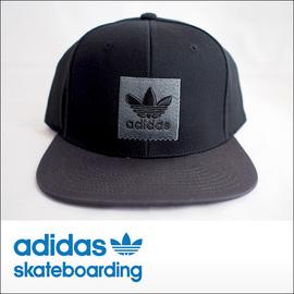 adidas skateboarding【アディダス スケートボーディング】キャップ SNAPBACK2 (Black)