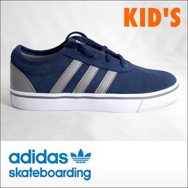 adidas skateboarding【アディダス スケートボーディング】キッズスケシュー ADI-EASE KIDS (NV/GY/WH)