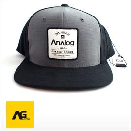 ANALOG【アナログ】キャップ Impervious Flex Fit Cap Grey