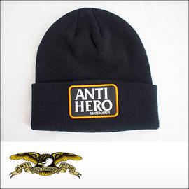 Antihero【アンタイヒーロー、アンチヒーロー】ビーニー RSRVE PTH CUFF BEANIE(Black)