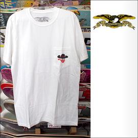 ANTIHERO【アンタイヒーロー】Tシャツ Bandito POCKET TEE (White) サイズ:M