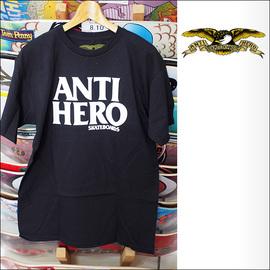 ANTIHERO【アンタイヒーロー】Tシャツ BLACKHERO S/S TEE (Black) サイズ:M