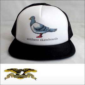 Antihero【アンタイヒーロー】メッシュキャップ Pigeon Trucker