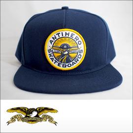 Antihero【アンタイヒーロー】キャップ Snapback hat Keep Moving(Navy)