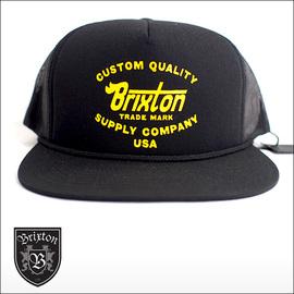 BRIXTON【ブリクストン】キャップ ERWIN MESH CAP(Black)