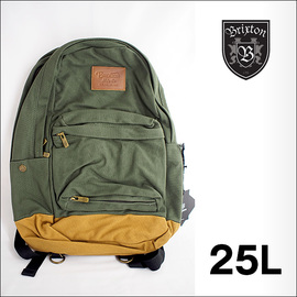 BRIXTON【ブリクストン】バックパック リュックサック Basin Backpack(Olive×Brown)