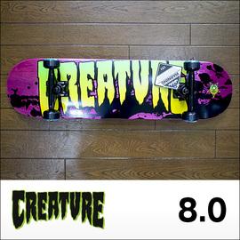 Creature【クリーチャー】キッズコンプリート STAINED (BULLETトラック、OJウィール52mm)8.0×31.6