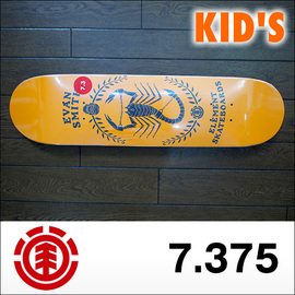 ELEMENT【エレメント】キッズデッキ KID'S VERMIN SERIES  EVAN SCORPION 7.375×30