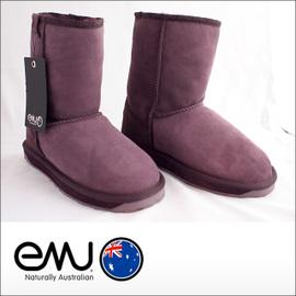 EMU【エミュー】シープスキンブーツ STINGER LO Purple