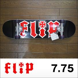 Flip【フリップ】コンプリート HKD BLACK (KRUXトラック、FLIPウィール52㎜) 7.75×31.63