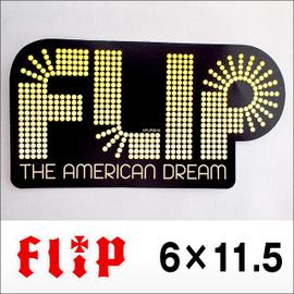 FLIP【フリップ】ステッカー American Dream(4.7インチ)6×11.5