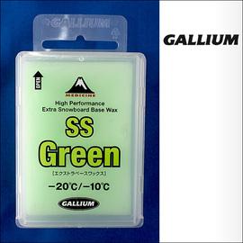 Gallium【ガリウム】スノーボード用ワックス BASE WAX High Perfomance Extra Snowboard Base Wax SS Green