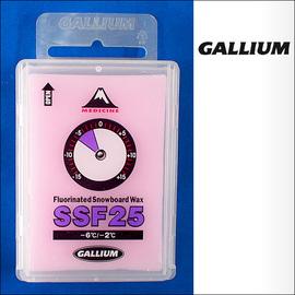Gallium【ガリウム】スノーボード用滑走ワックス Fluorinated Snowboard Wax SSF25