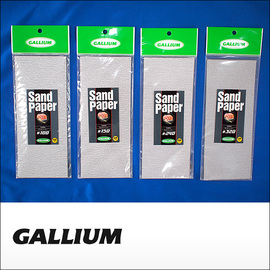 Gallium【ガリウム】サンドペーパー Sand paper #100 #150 #240 #320