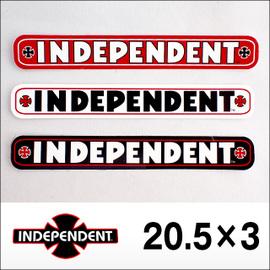 independent【インデペンデント】ステッカー BAR 205