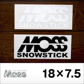 MOSS SNOWSTICK【モス】ステッカー 18×7.5cm