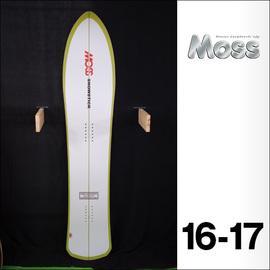 【16-17】MOSS SNOWSTICK【モス スノースティック】スノーボード U4 151