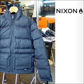 NIXON【ニクソン】ダウンジャケット MALONE JACKET(Black)