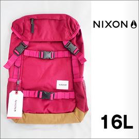 ★日本限定★NIXON【ニクソン】バックパック リュックサック SMALL LANDLOCK BACKPACK(Dark Chery)