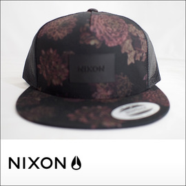 NIXON【ニクソン】メッシュキャップ TEAM TRUCKER HAT (Black/Anthracite)