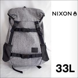 NIXON【ニクソン】バックパック リュックサック LANDLOCK SE(Black Wash)33L