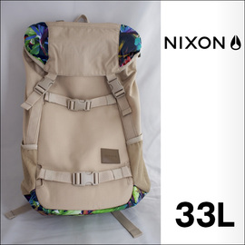 NIXON【ニクソン】バックパック リュックサック LANDLOCK SE(Khaki/Multi)33L