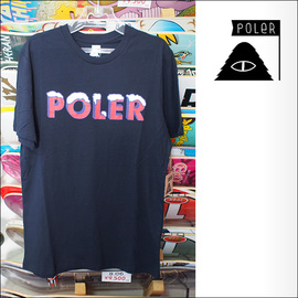 Poler Camping Stuff【ポーラーキャンピングスタッフ】Tシャツ FROZEN TEE (Navy) サイズ:S