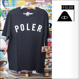Poler Camping Stuff【ポーラーキャンピングスタッフ】Tシャツ STATE TEE (Black) サイズ:M