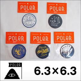 Poler Camping Stuff【ポーラーキャンピングスタッフ】ワッペン PATCH