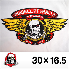 POWELL【パウエル】ワッペン PATCH Winged Ripper LG