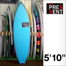 PRESSENT Surfboards【プレゼント】DRONPA2(EPS/ノーストリンガーモデル) 5.10×50×5.6