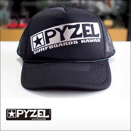 PYZEL【パイゼル】メッシュキャップ LOGO(Black)