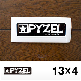 PYZEL【パイゼル】ステッカー LOGO S 13×4cm