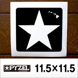 PYZEL【パイゼル】ステッカー STAR 11.5cm