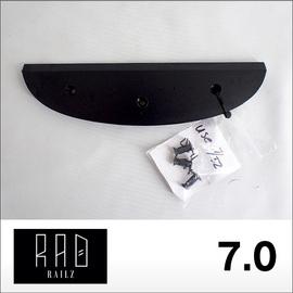 RAD RAILZ【ラッドレイルズ】テールガード TAIL SKID 7.0 (Black)